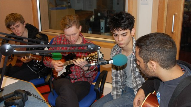 Crowns live on BBC Radio Cornwall