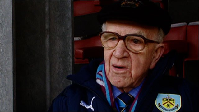 Burnley turnstyle operator Jim Thompson