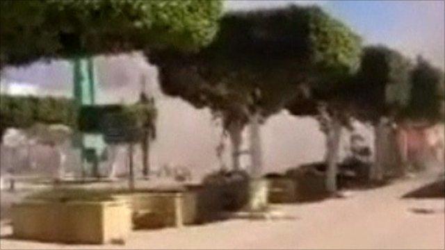 Misrata airstrikes