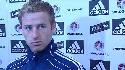 Scotland midfielder Barry Bannan