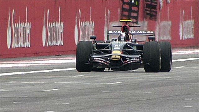 Sebastian Vettel wins at Monza