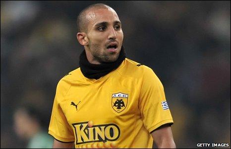 Algeria striker Rafik Djebbour