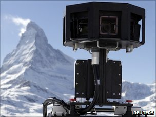 Street View up a mountain, Reuters