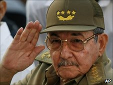 File photo (2007) of Raul Castro