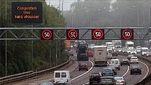 M42 hard shoulder
