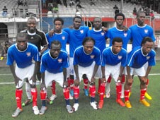 Liberia's Olympic football team