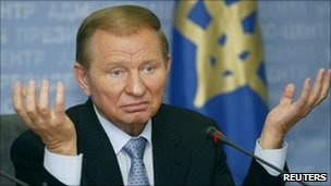 Former Ukrainian President Leonid Kuchma. File photo