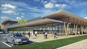 The new Waitrose in Bracknell
