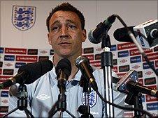 England skipper John Terry