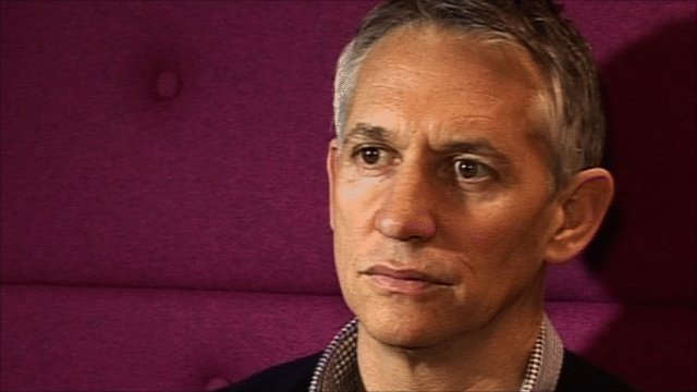 Former England striker and Match of the Day presenter Gary Lineker