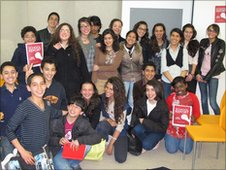 Students in Tunisia