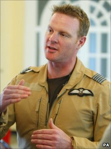Wing Commander Jez Attridge
