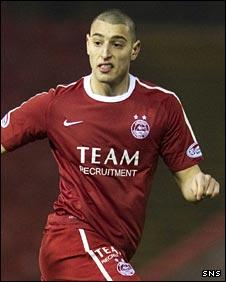 Aberdeen defender Myles Anderson