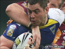 Andy Bracek has previously played for Warrington and St Helens