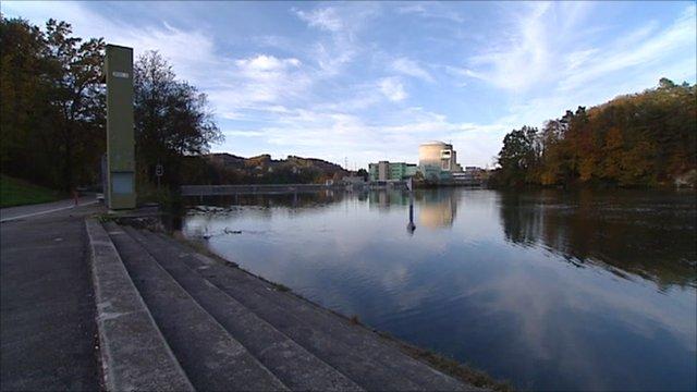 Swiss nuclear reactor