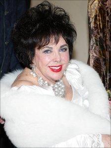 Dame Elizabeth Taylor in 2007