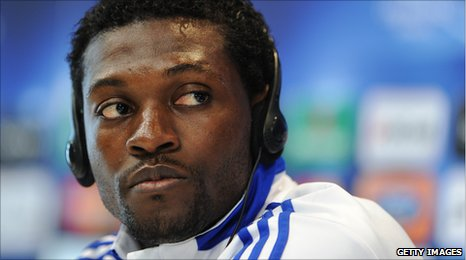 Togo's Emmanuel Adebayor