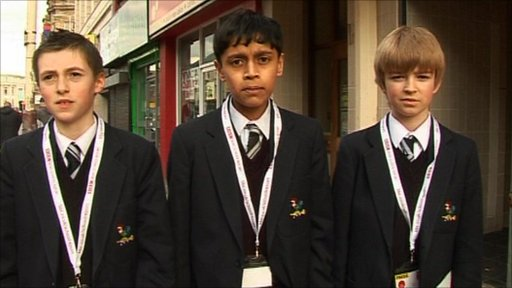 BBC School Reporters from Bolton School Boys Division