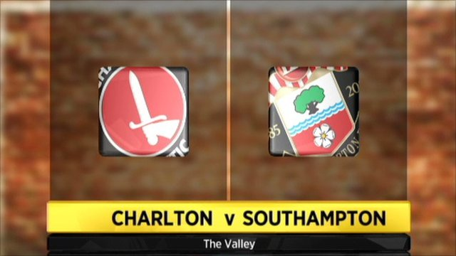 Charlton v Southampton graphic