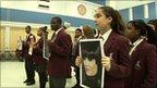 Pupils holding their own alternative vote