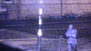 CCTV image of Night Stalker Delroy Grant