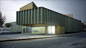Front entrance of Nottingham Contemporary. Photo by Andy Taylor Smith