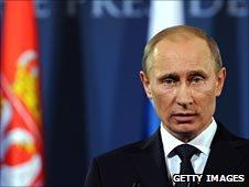 Russian PM Vladimir Putin