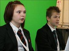 Hillcrest School reporters