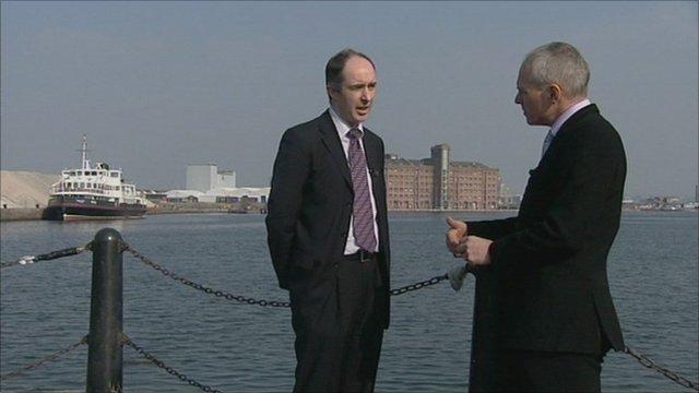 Richard Mawdsley and Andy Gill