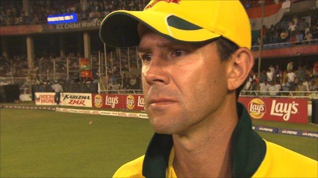 Australia captain Ricky Ponting