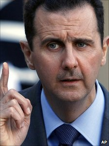 Syrian President Bashar al-Assad (file image)
