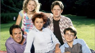 Publicity shot from series two