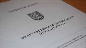 FOI draft law document