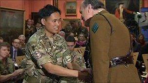 Acting Sergeant Dipprasad Pun