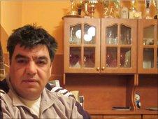 Balint Bernath, deputy leader of local Roma community