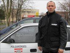 Gergely Rubi, local parliamentary deputy of the far-right party Jobbik