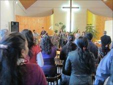 Pentecostalist church in Hajduhadhaz