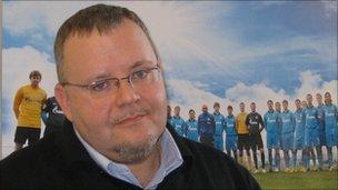 Zenit official Alexei Blinov