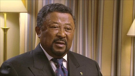 Jean Ping, chairman of the Standing Commission of the African Union