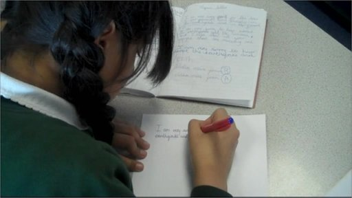 Student writes to Japanese schoolchildren