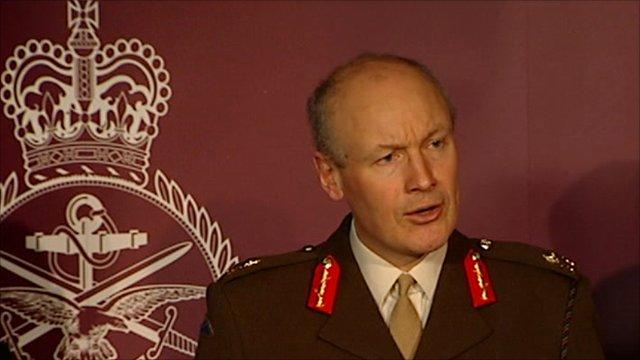 Major General John Lorimer