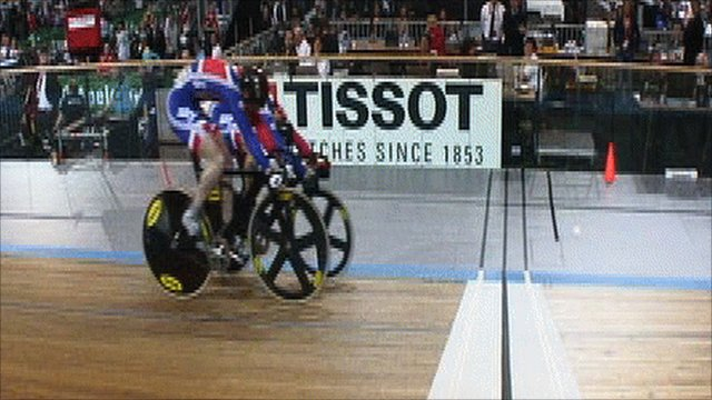 Britain's Jason Kenny pips Sir Chris Hoy