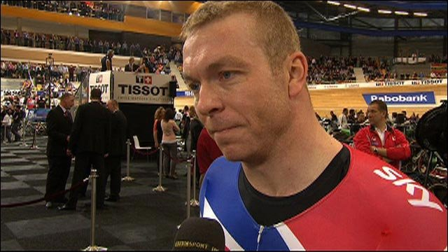 Sir Chris Hoy vows to bounce back after sprint bronze