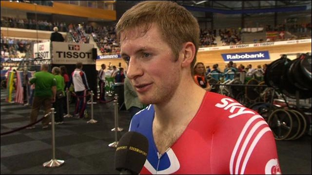 Tired Jason Kenny thrilled with world sprint silver