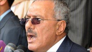 President Ali Abdullah Saleh (25 mar 2011)