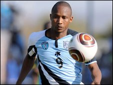 Striker Jerome Ramatlhakwane