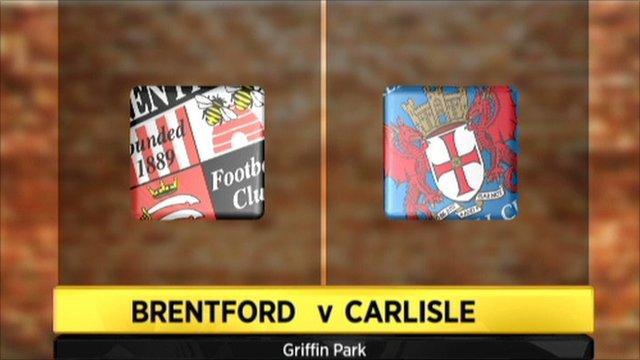 Brentford v Carlisle