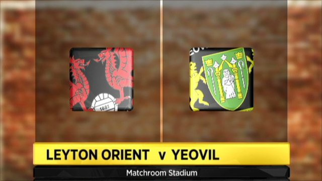 Leyton Orient v Yeovil graphic