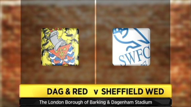 Dagenham and Redbridge v Sheffield Wednesday graphic