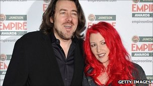 Jonathan Ross with his wife Jane Goldman